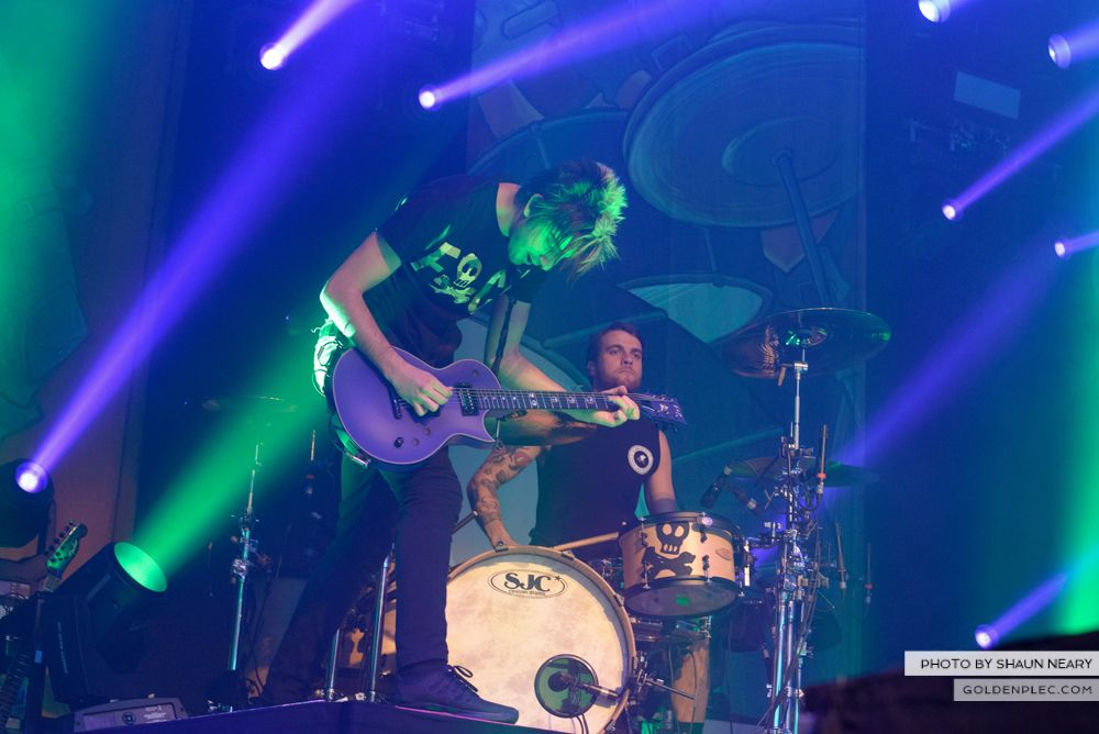 All Time Low at The Olympia Theatre, Dublin on March 19th 2014-06