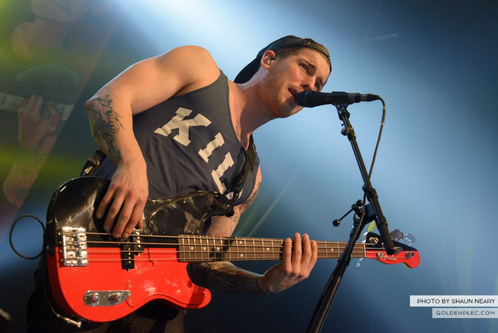 All Time Low at The Olympia Theatre, Dublin on March 19th 2014-15
