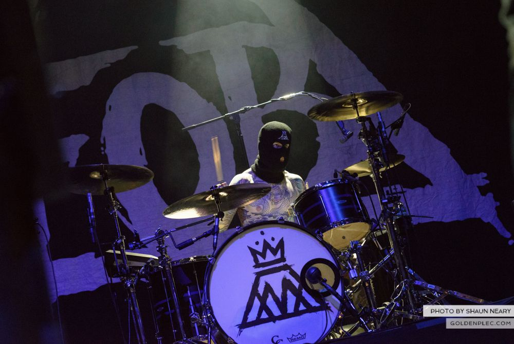 Fall Out Boy at The Olympia Theatre, Dublin on March 18th 2014-09