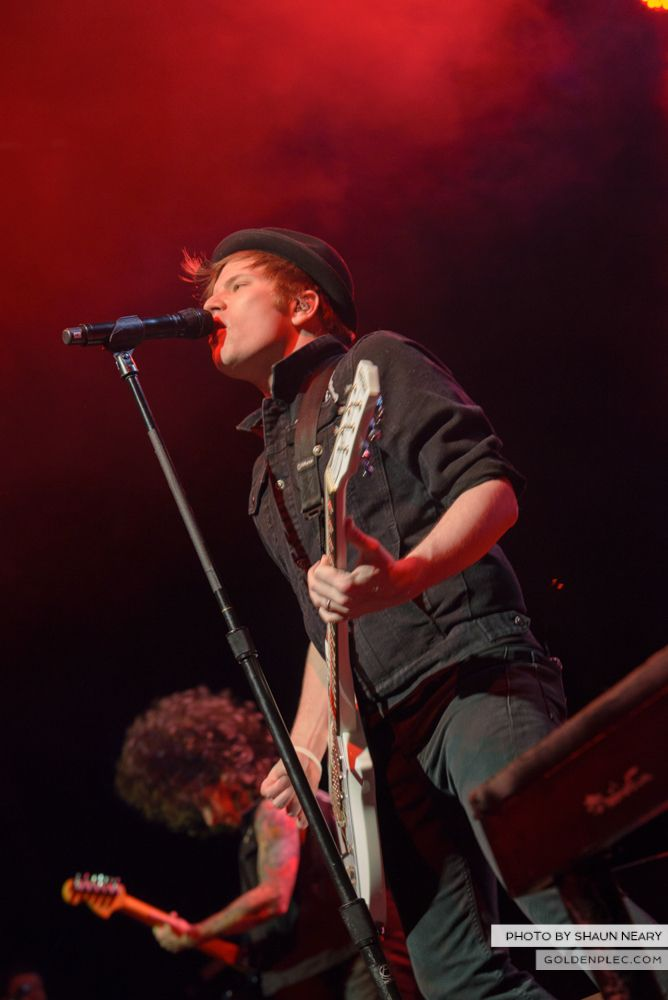 Fall Out Boy at The Olympia Theatre, Dublin on March 18th 2014-18