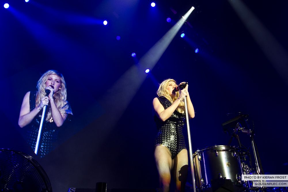 Ellie Goulding at the O2 by Kieran Frost