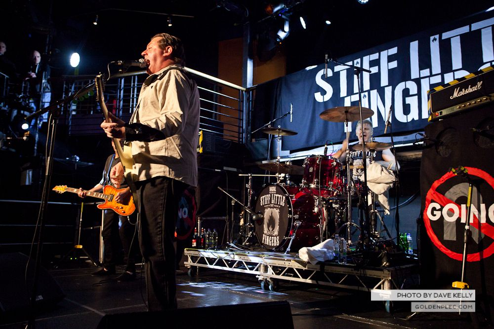 Stiif Little Fingers at The Academy on 13 March 2014