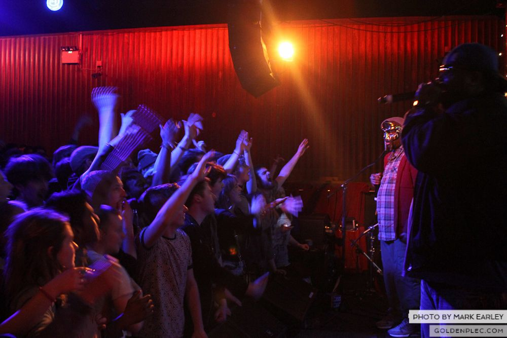 MF DOOM at SUGAR CLUB by MARK EARLEY