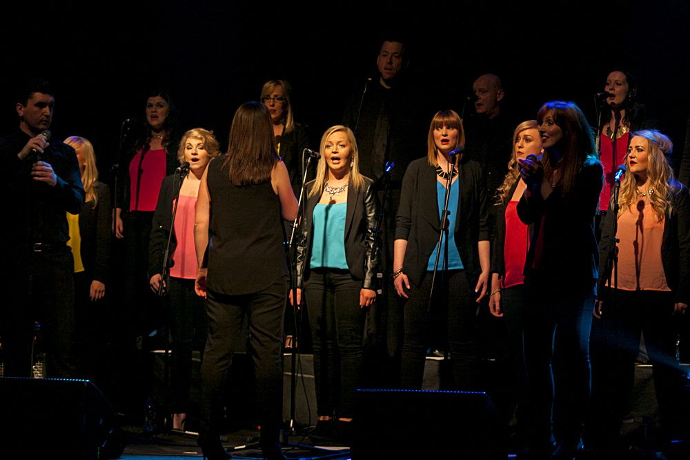 GP – Dublin Gospel Choir – The Button Factory – Abraham Tarrush (1)