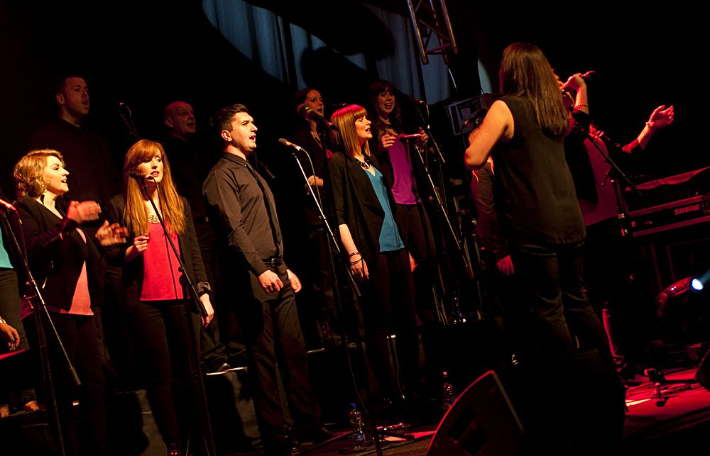 GP – Dublin Gospel Choir – The Button Factory – Abraham Tarrush (14)