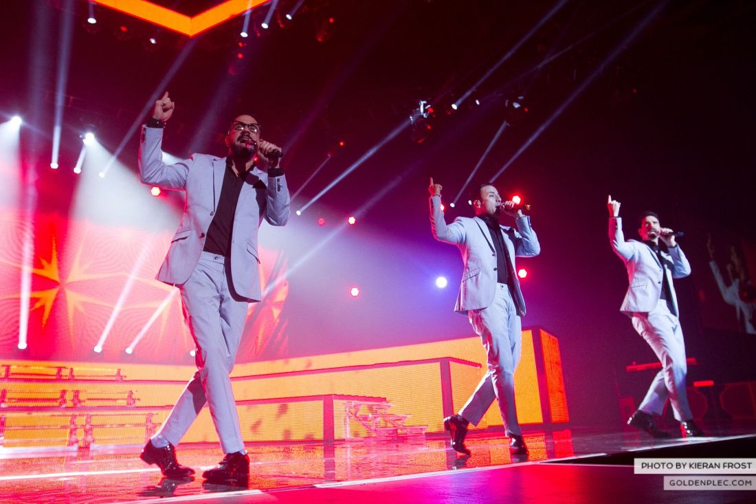 Backstreet Boys at The O2 by Kieran Frost