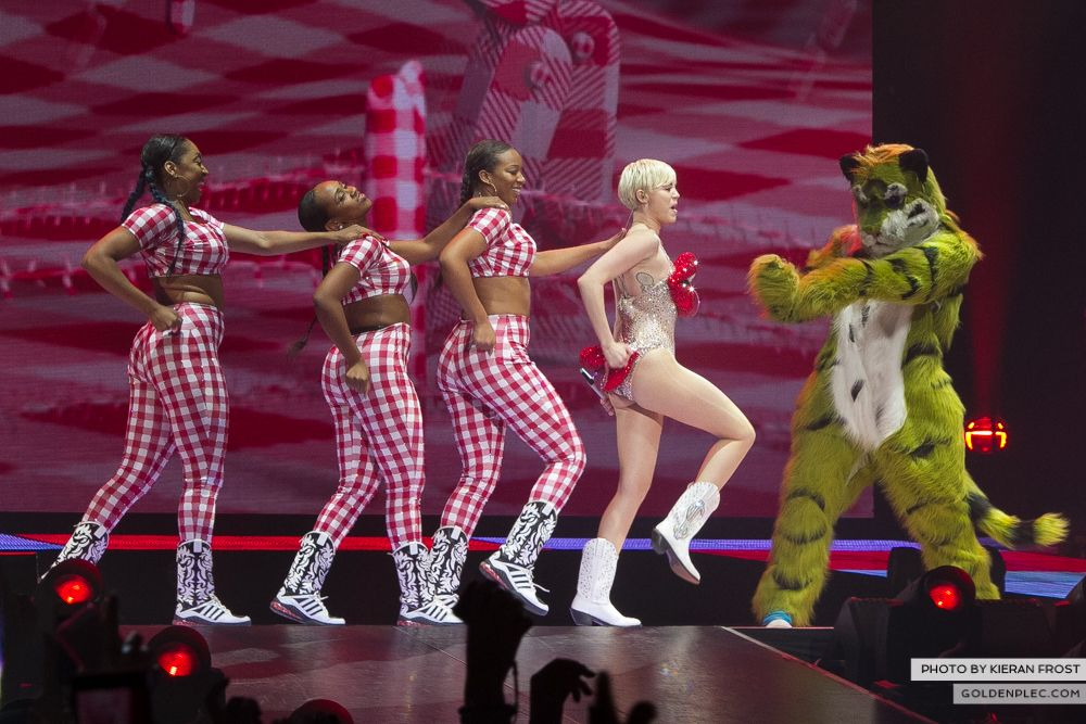 Miley Cyrus at The O2 by Kieran Frost