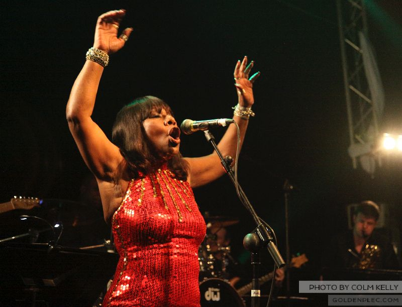 Martha Reeves & Vandellas at Button Fctory by Colm Kelly