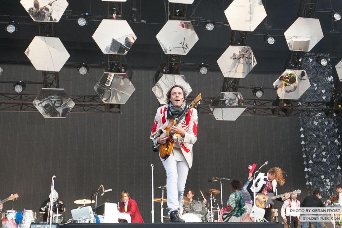 Arcade Fire at Marlay Park by Kieran Frost