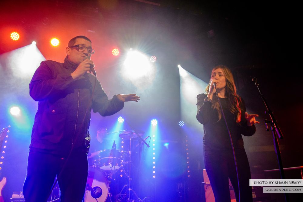 Paul Heaton & Jacqui Abbott at The Academy, Dublin on June 7th 2014 by Shaun Neary-15