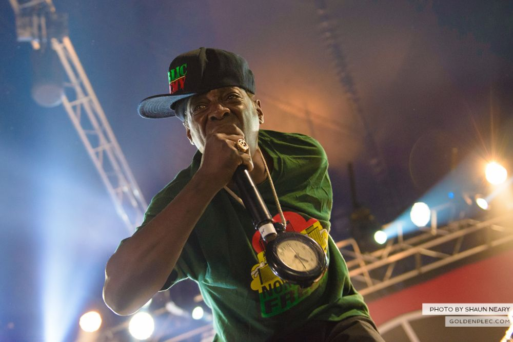 Public Enemy at Forbidden Fruit, IMMA, Dublin on June 1st 2014 by Shaun Neary-8
