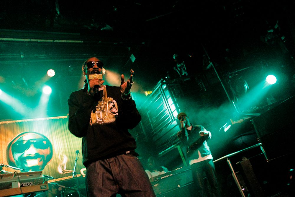 Snoop Dogg in The Academy on 8 June 2014 by Yan Bourke 016