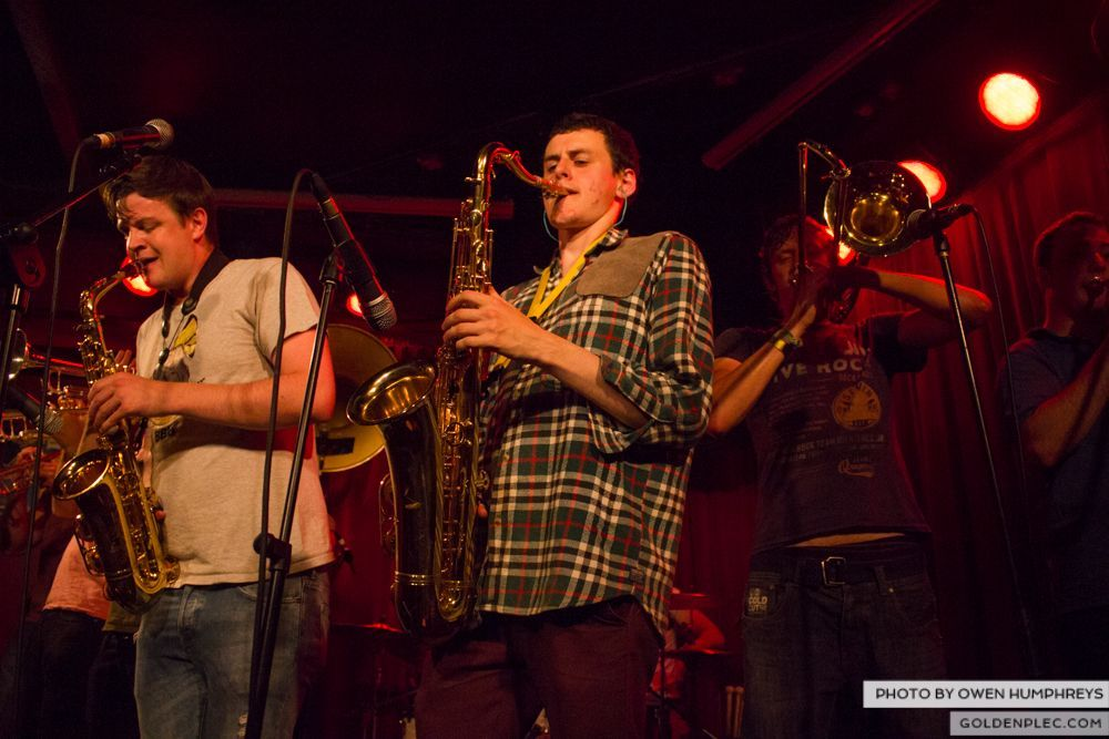 Booka Brass Band at the Roisin Dubh – Galway Arts Festival by Owen Humphreys (5 of 26)