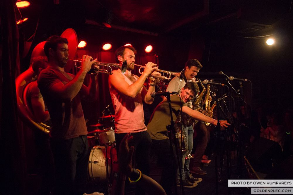 Booka Brass Band at the Roisin Dubh – Galway Arts Festival by Owen Humphreys (6 of 26)
