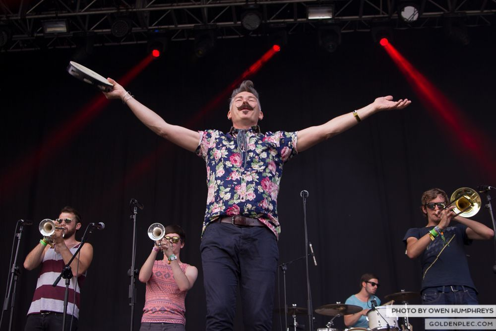 Booka Brass Band ft. Jerry Fish at Groove Festival 2014 (12 of 13)