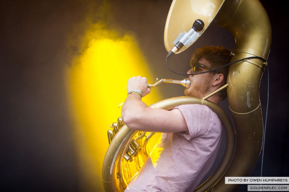 Booka Brass Band ft. Jerry Fish at Groove Festival 2014 (4 of 13)