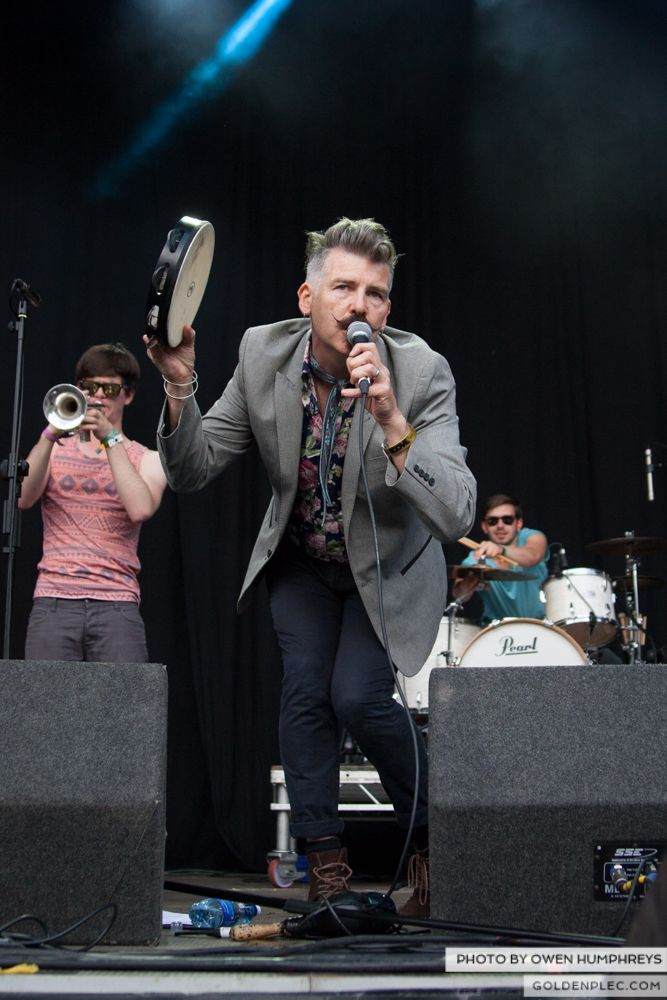 Booka Brass Band ft. Jerry Fish at Groove Festival 2014 (5 of 13)