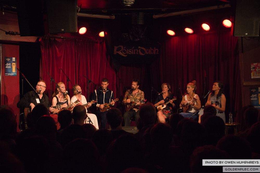 West Cork Ukulele Orchestra at the Roisin Dubh – Galway Arts Festival by Owen Humphreys (15 of 15)