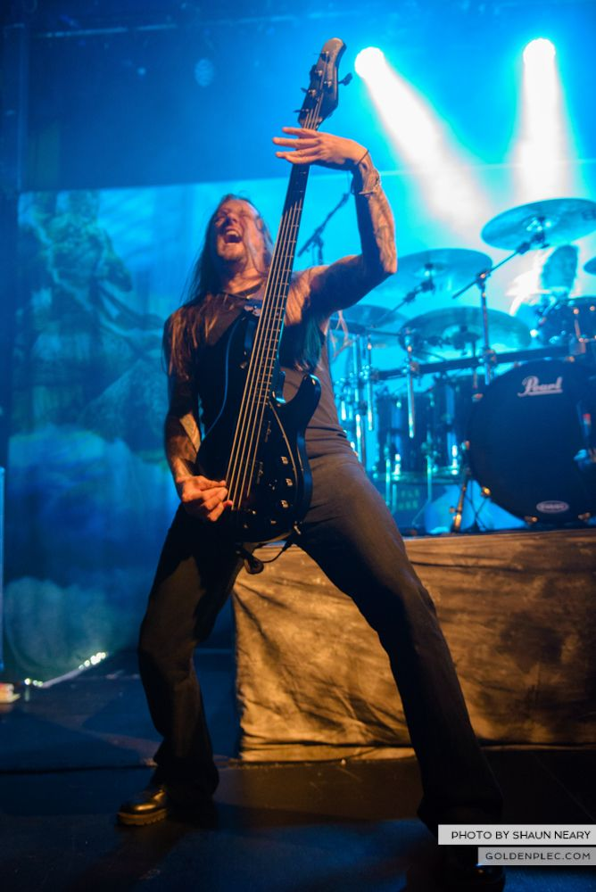 Amon Amarth at The Academy, Dublin on August 13th 2014 by Shaun Neary-03