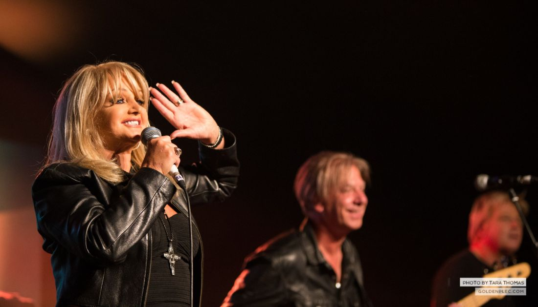 Bonnie Tyler in Electric Ireland Power House at Electric Picnic