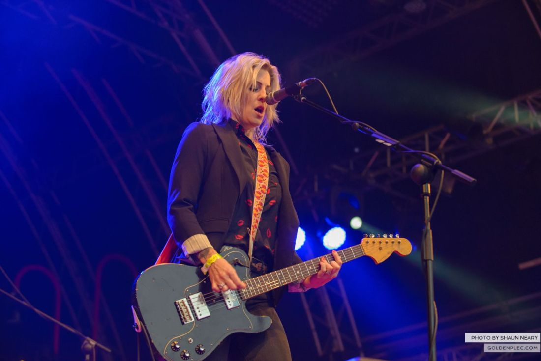 Brody Dalle – Belsonic, Belfast on August 20th 2014 by Shaun Neary-7