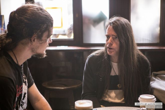 Chad Channing. Photo by Aaron Corr.