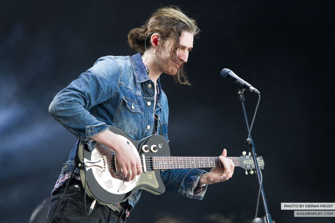 Hozier at Electric Picnic by Kieran Frost