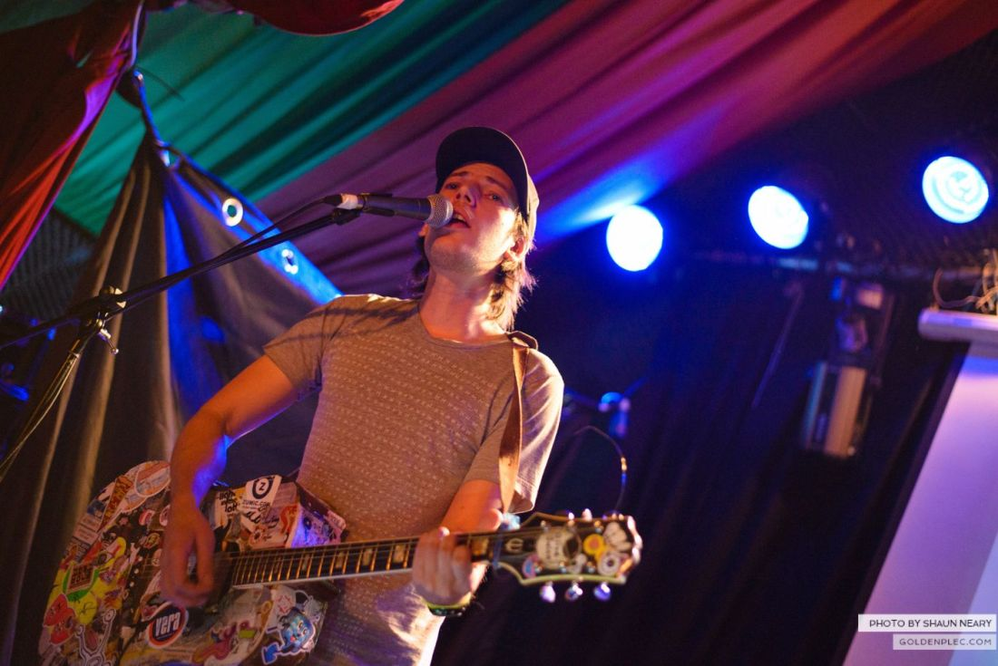 Jeffrey Lewis and The Jrams – The Grand Social, Dublin on August 25th 2014 by Shaun Neary-05