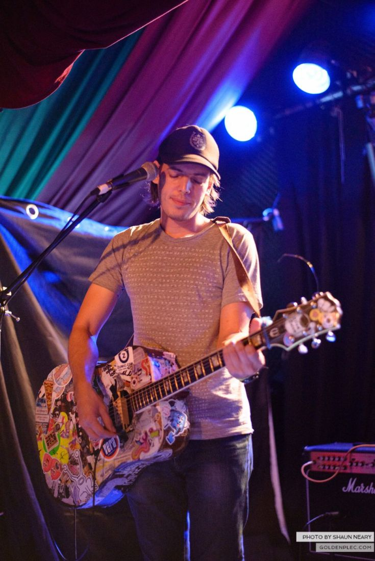 Jeffrey Lewis and The Jrams – The Grand Social, Dublin on August 25th 2014 by Shaun Neary-06