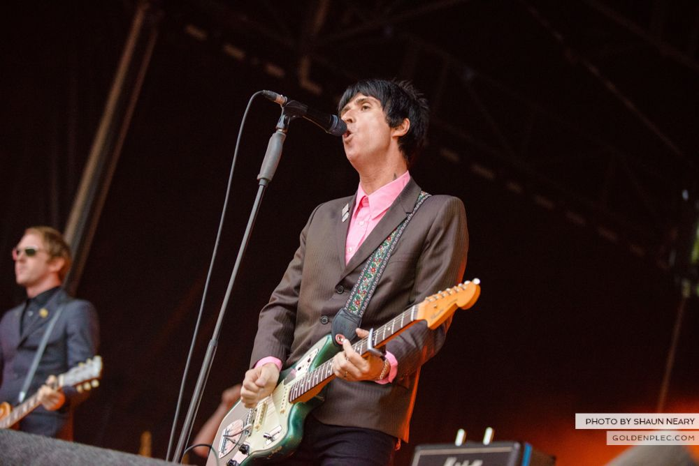 Johnny Marr at Leopardstown Racecourse, Dublin on August 7th 2014 by Shaun Neary-04
