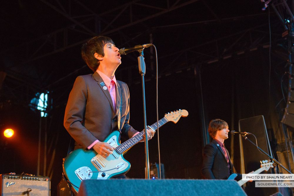 Johnny Marr at Leopardstown Racecourse, Dublin on August 7th 2014 by Shaun Neary-07
