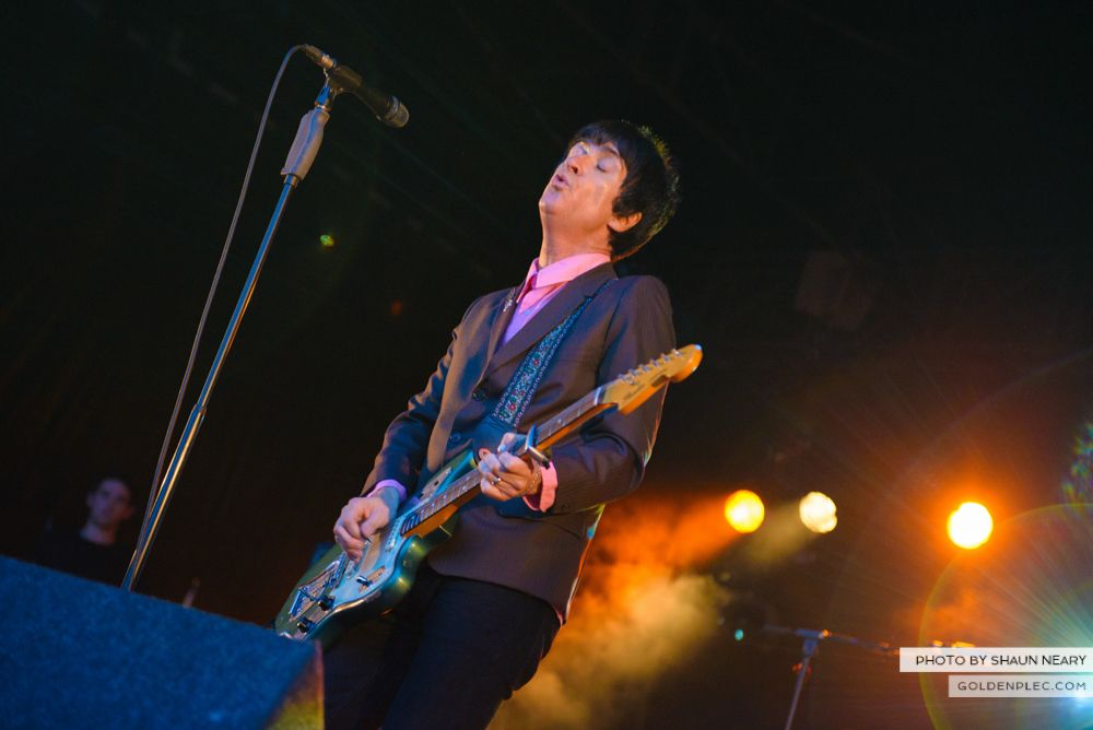 Johnny Marr at Leopardstown Racecourse, Dublin on August 7th 2014 by Shaun Neary-13