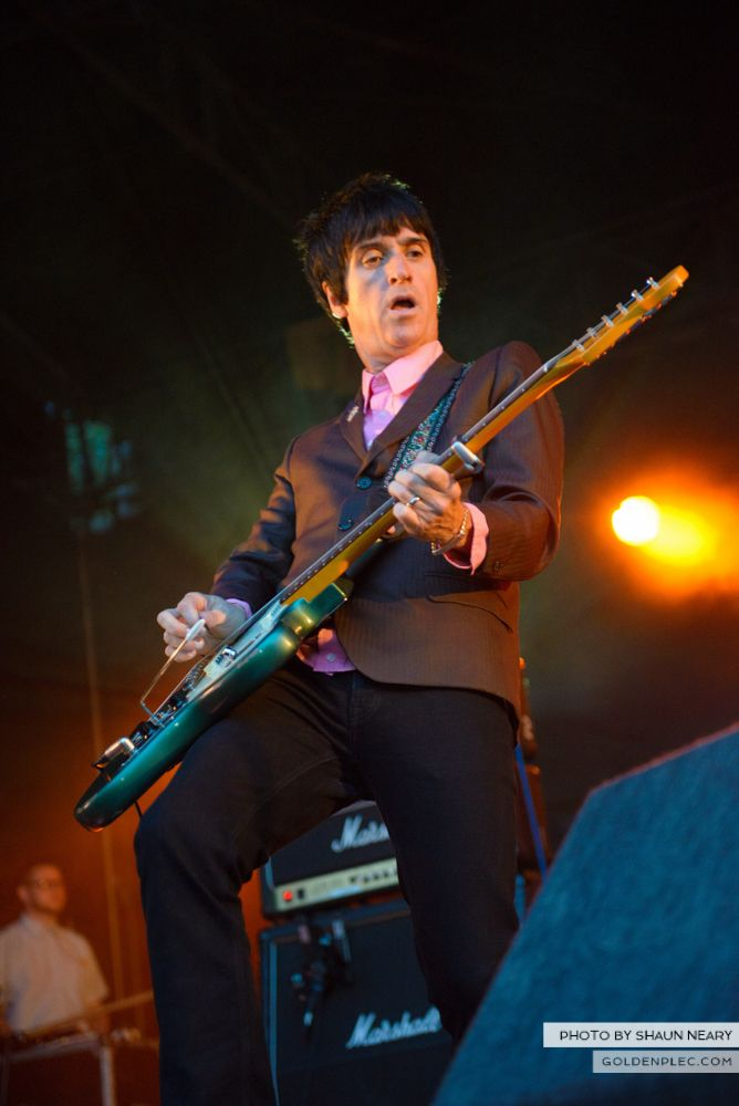Johnny Marr at Leopardstown Racecourse, Dublin on August 7th 2014 by Shaun Neary-17