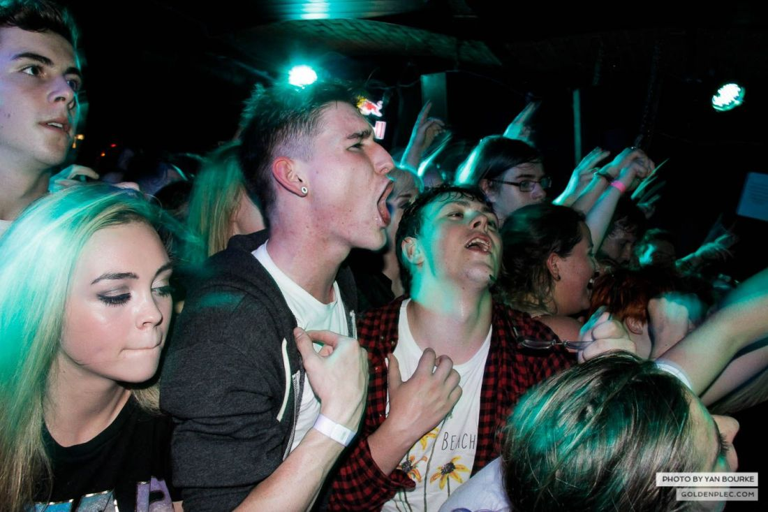 The Front Bottoms in Fibbers on 19 August 2014 by Yan Bourke-16