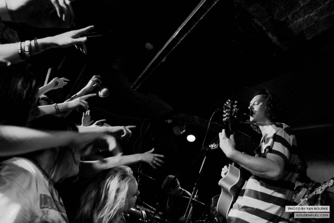 The Front Bottoms in Fibbers on 19 August 2014 by Yan Bourke-19
