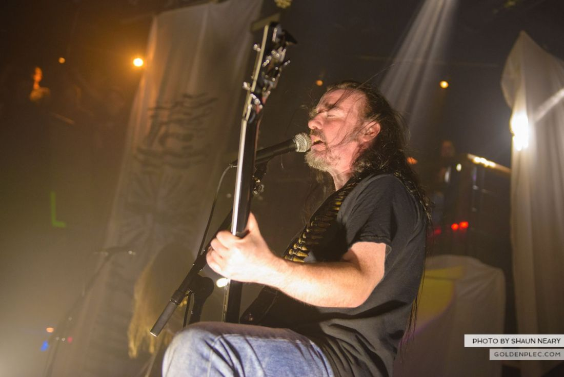 Carcass – The Academy, Dublin on September 20th 2014 by Shaun Neary-17
