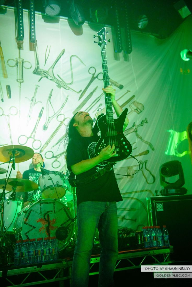 Carcass – The Academy, Dublin on September 20th 2014 by Shaun Neary-23