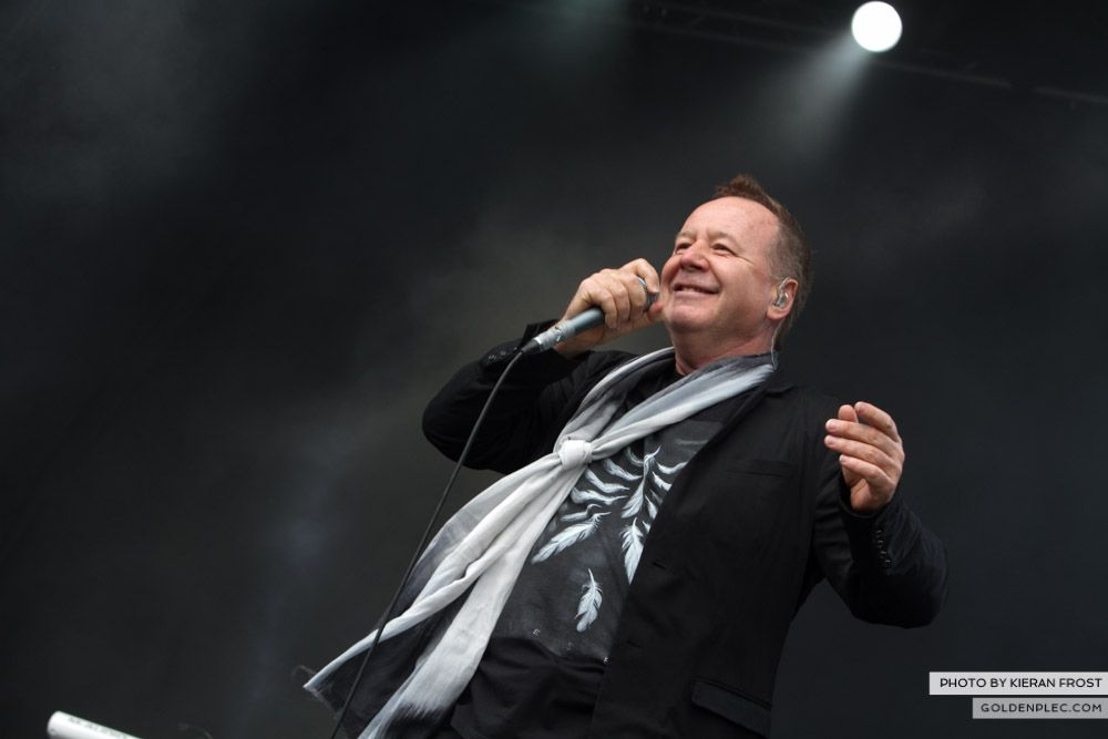 Simple Minds at Electric Picnic by Kieran Frost