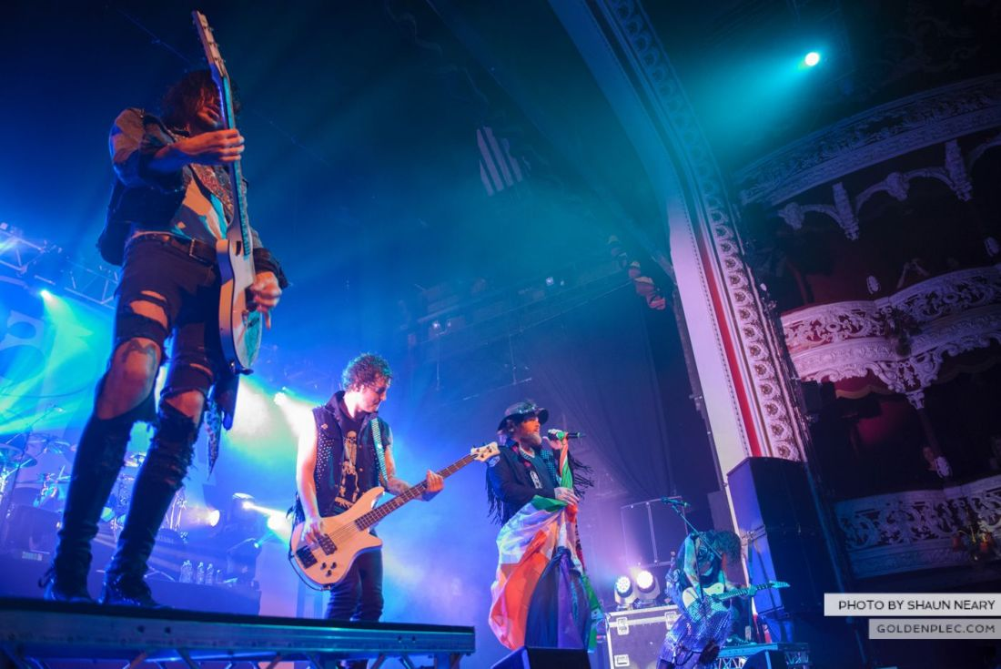 Asking Alexandria at The Olympia Theatre – October 29th 2014 by