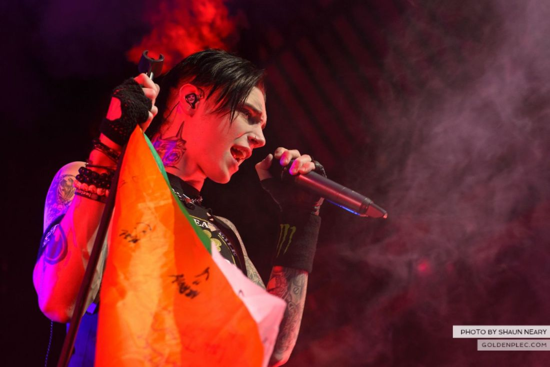 Black Veil Brides at The Olympia Theatre, Dublin on October 15th 2014 by Shaun Neary-03