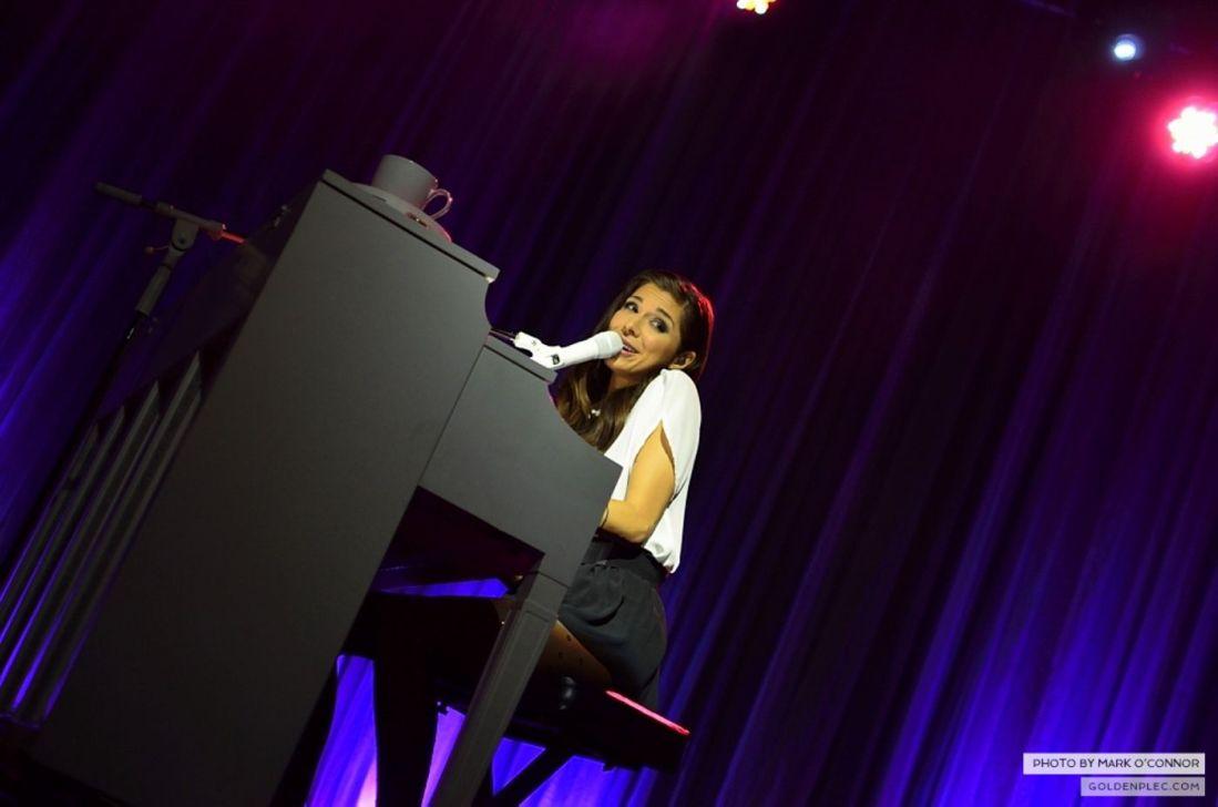 Christina Perri in the Olympia Theatre by Mark O' Connor