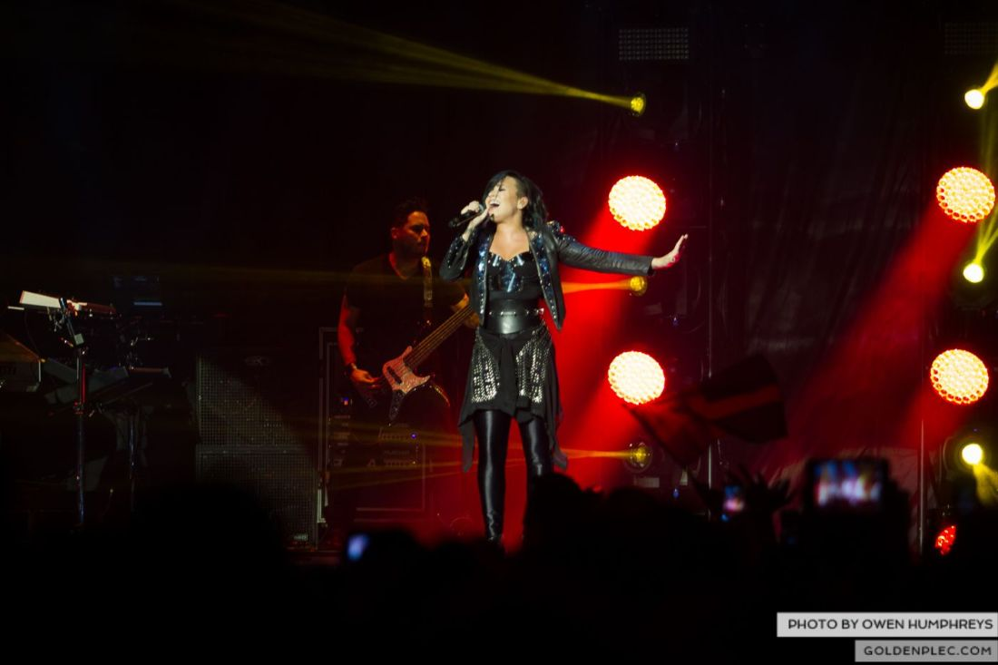 Demi Lovato at The 3Arena by Owen Humphreys (2 of 12)