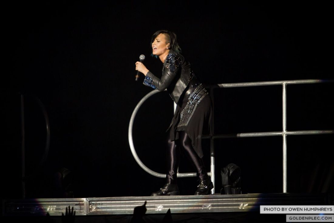 Demi Lovato at The 3Arena by Owen Humphreys (7 of 12)