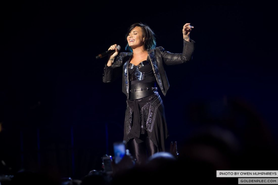 Demi Lovato at The 3Arena by Owen Humphreys (9 of 12)