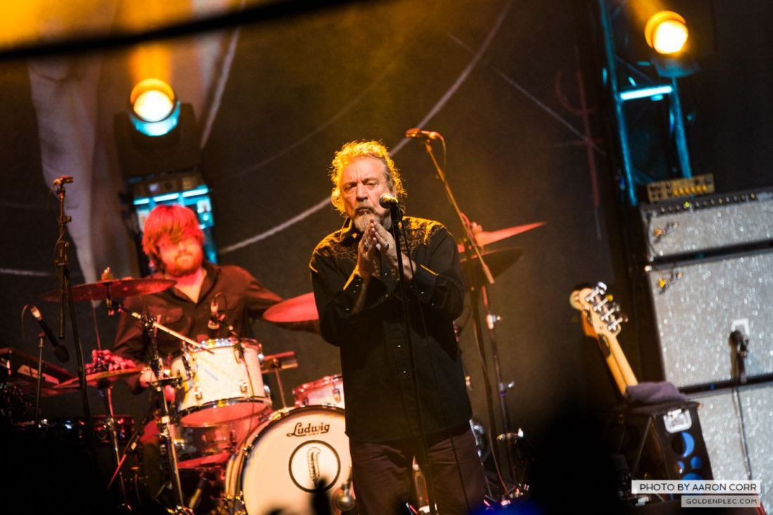 Robert Plant at Olympia by Aaron Corr-8658