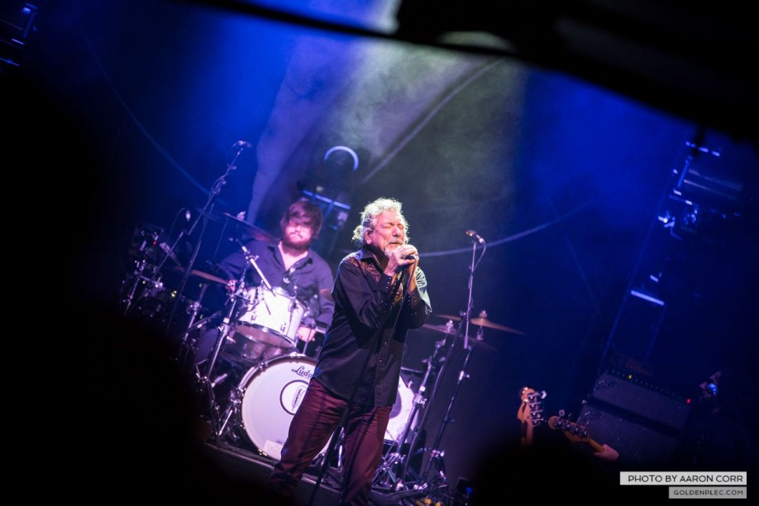 Robert Plant at Olympia by Aaron Corr-8750