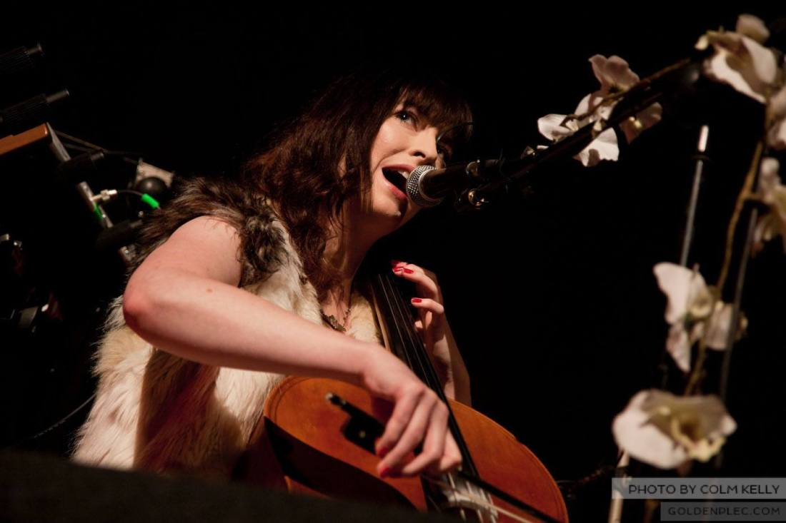 Alana Henderson at The Olympia Theatre by Colm Kelly