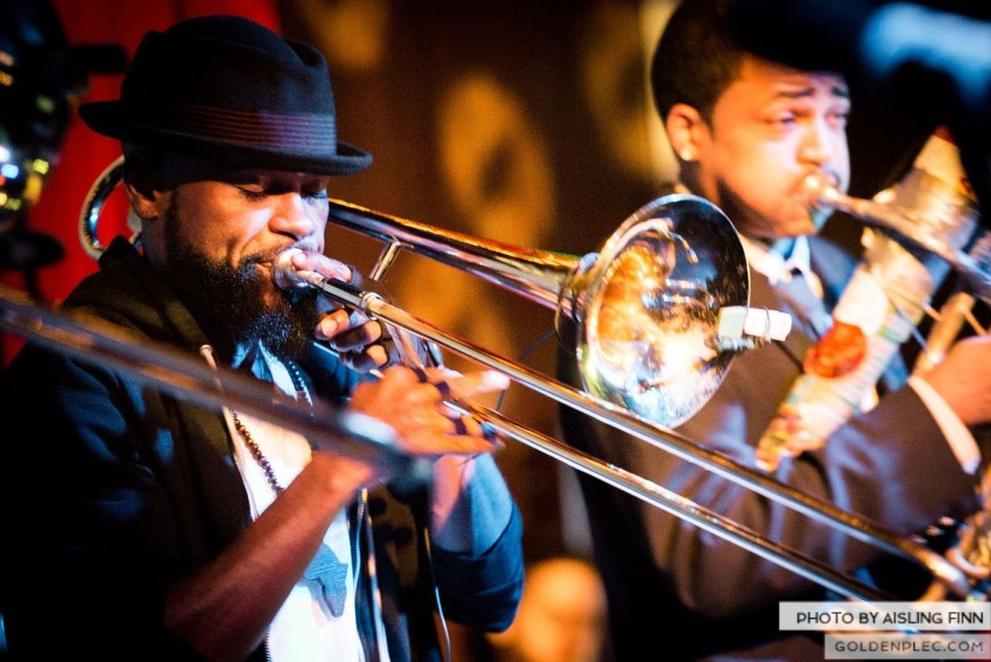 Hypnotic Brass Ensemble at The Sugar Club by Aisling Finn (10)