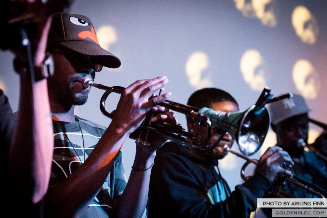 Hypnotic Brass Ensemble at The Sugar Club by Aisling Finn (11)