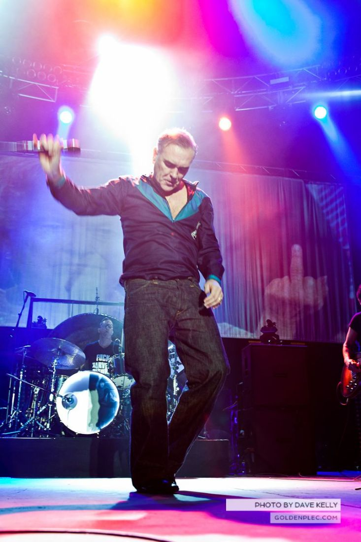 Morrissey at The 3 Arena, Dublin, 1 December 2014 (13 of 52)